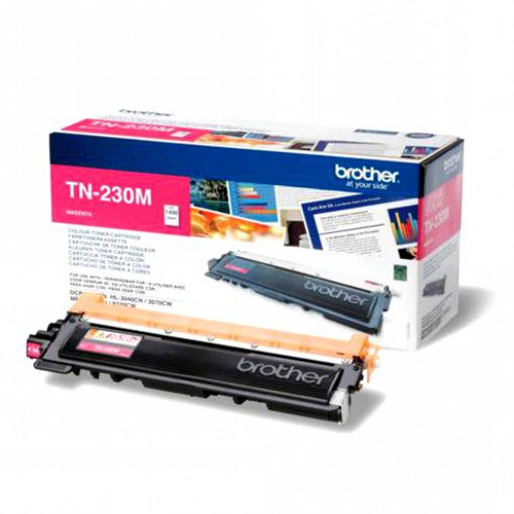 Заправка картриджа Brother TN-230M для принтеров Brother HL-3040 / 3070, DCP-9010, MFC-9120 / 9320