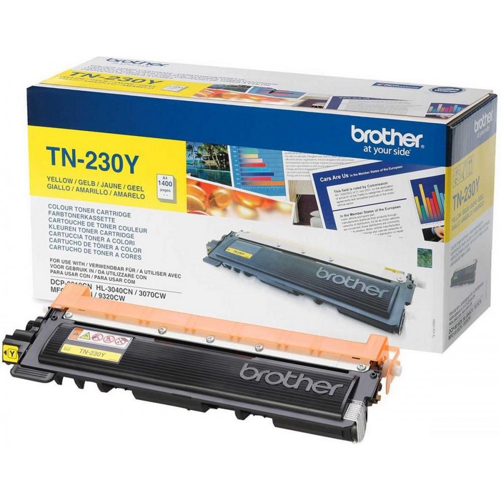 Заправка картриджа Brother TN-230Y для принтеров Brother HL-3040 / 3070, DCP-9010, MFC-9120 / 9320