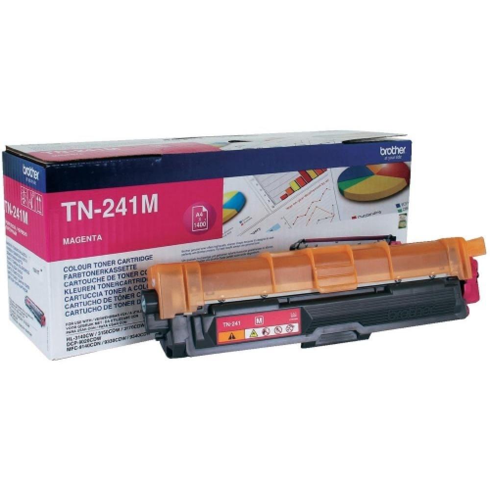 Заправка картриджа Brother TN-241M для принтеров Brother HL-3170, HL-3140, MFC-9330