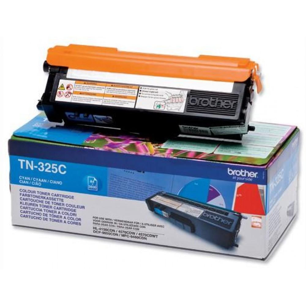 Заправка картриджа Brother TN-325C для принтеров Brother HL-4150, MFC-9465