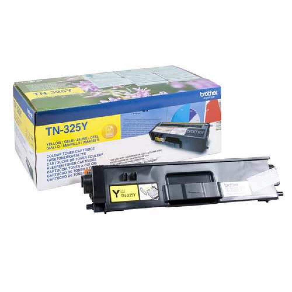 Заправка картриджа Brother TN-325Y для принтеров Brother HL-4150, MFC-9465