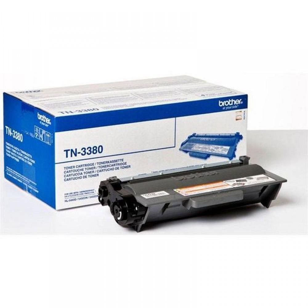 Заправка картриджа Brother TN-3380 для принтеров Brother DCP-8110 / 8150 / 8155 / 8250, HL-5440 / 5450 / 5470 / 6180, MFC-8510 / 8520 / 8710 / 8910 / 8950