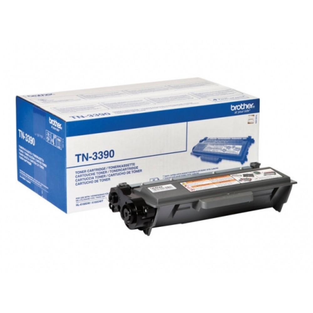 Заправка картриджа Brother TN-3390 для принтеров Brother HL-6180, DCP-8250, MFC-8950