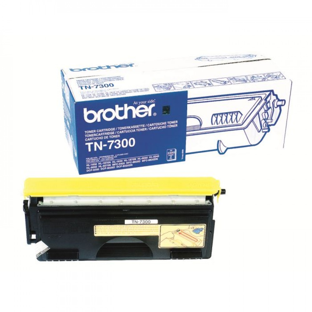Заправка картриджа Brother TN-7300 для принтеров МФУ Brother DCP-8020
