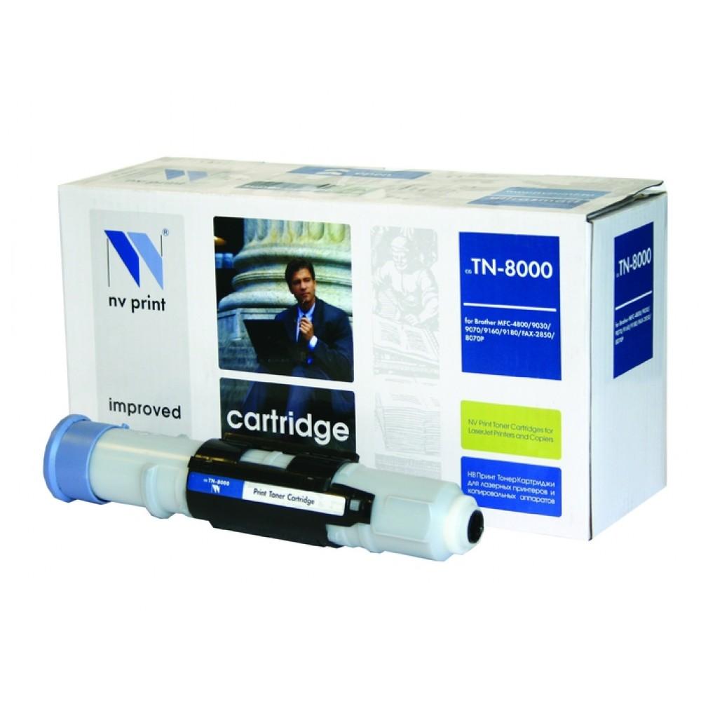 Заправка картриджа Brother TN-8000 для принтеров МФУ Brother MFC-9160 / 9180 / 4800 / 9030 / 9070