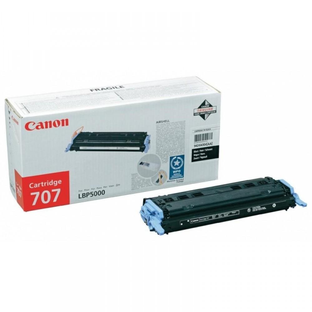 Заправка картриджа Canon C-707Bk (черный) для принтера Canon LBP5000 / LBP5100