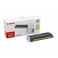 Заправка картриджа Canon 707Y (желтый) для принтера Canon LBP5000 / LBP5100