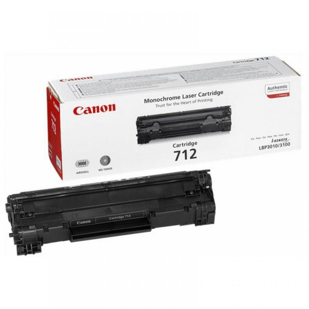 Заправка картриджа Canon 712 для принтеров Canon LBP 3010 / 3020 / 3100