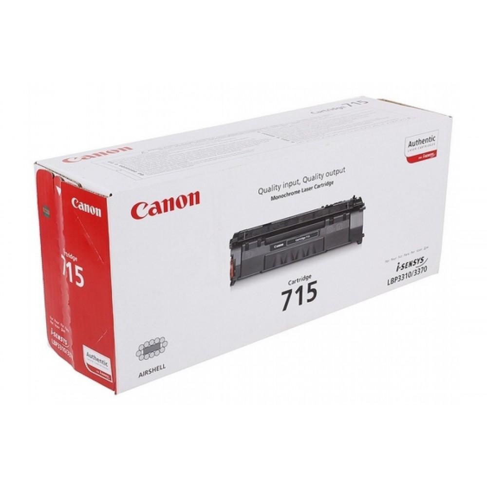 Заправка картриджа Canon 715 для принтера Canon i-SENSYS LBP 3310 / LBP 3370