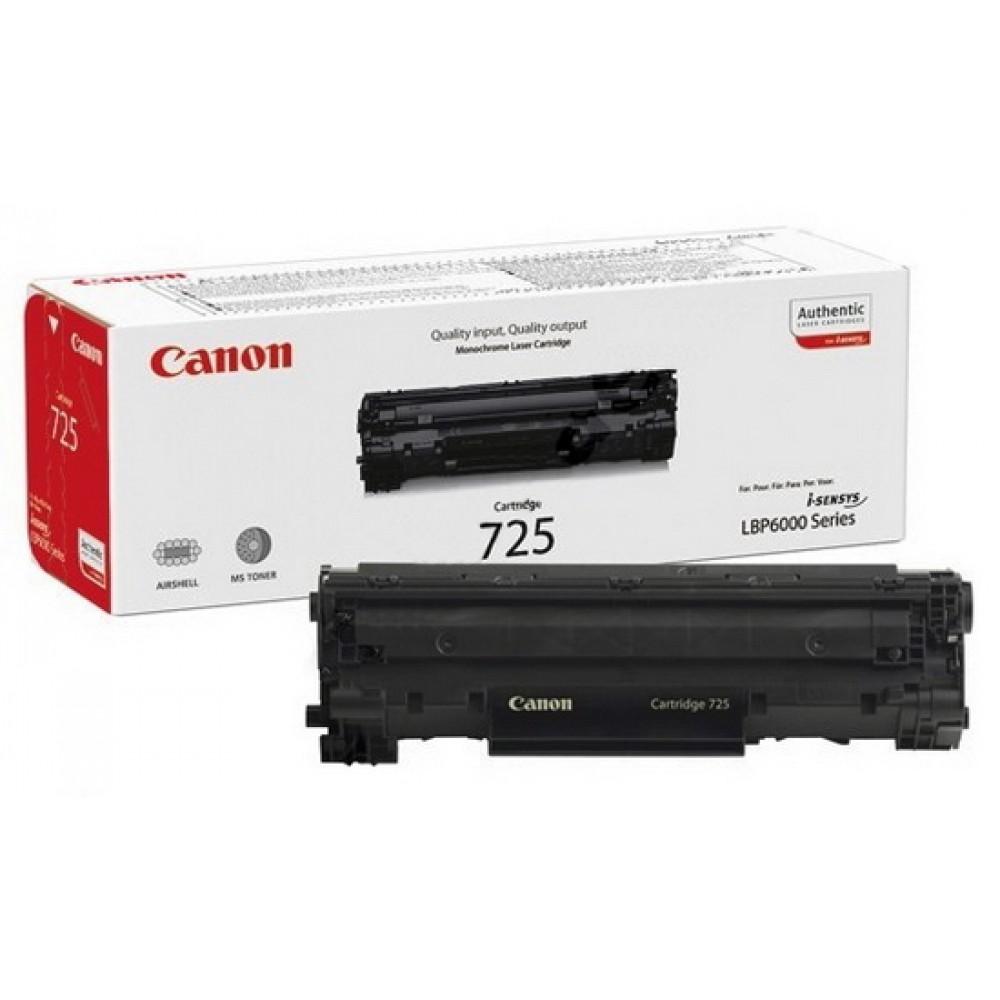 Заправка картриджа Canon 725 для принтеров Canon i-SENSYS LBP6000 / MF3010