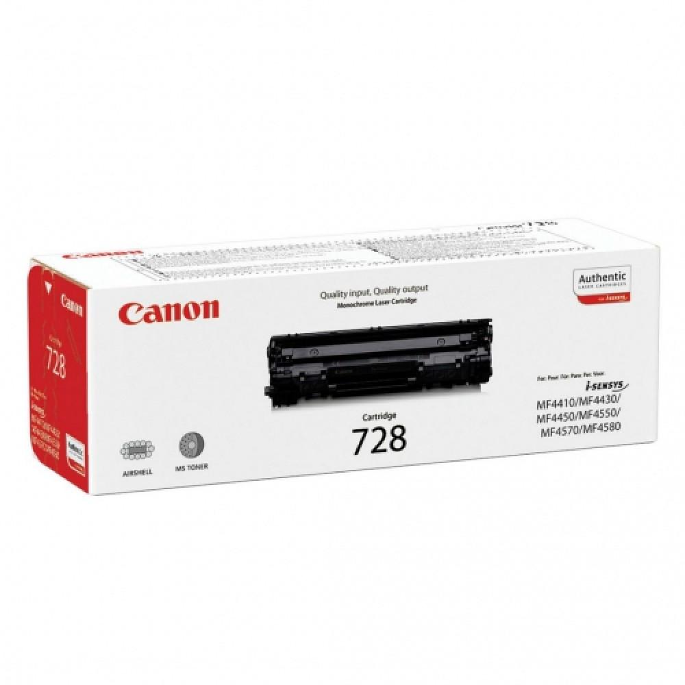 Заправка картриджа Canon 728 для принтеров Canon MF4410 / 4430 / 4450 / 4570 / 4580