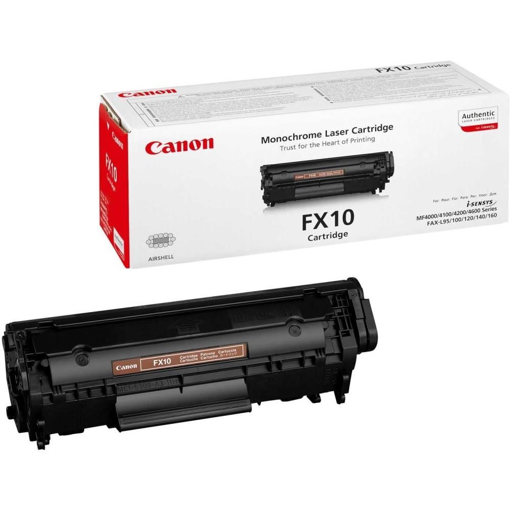 Заправка картриджа Canon FX-10 для принтера Canon Fax L1хх, i-SENSYS MF4010 / 4018 / 4120 / 4140 / 4150 / 4270 / 4660 / 4690