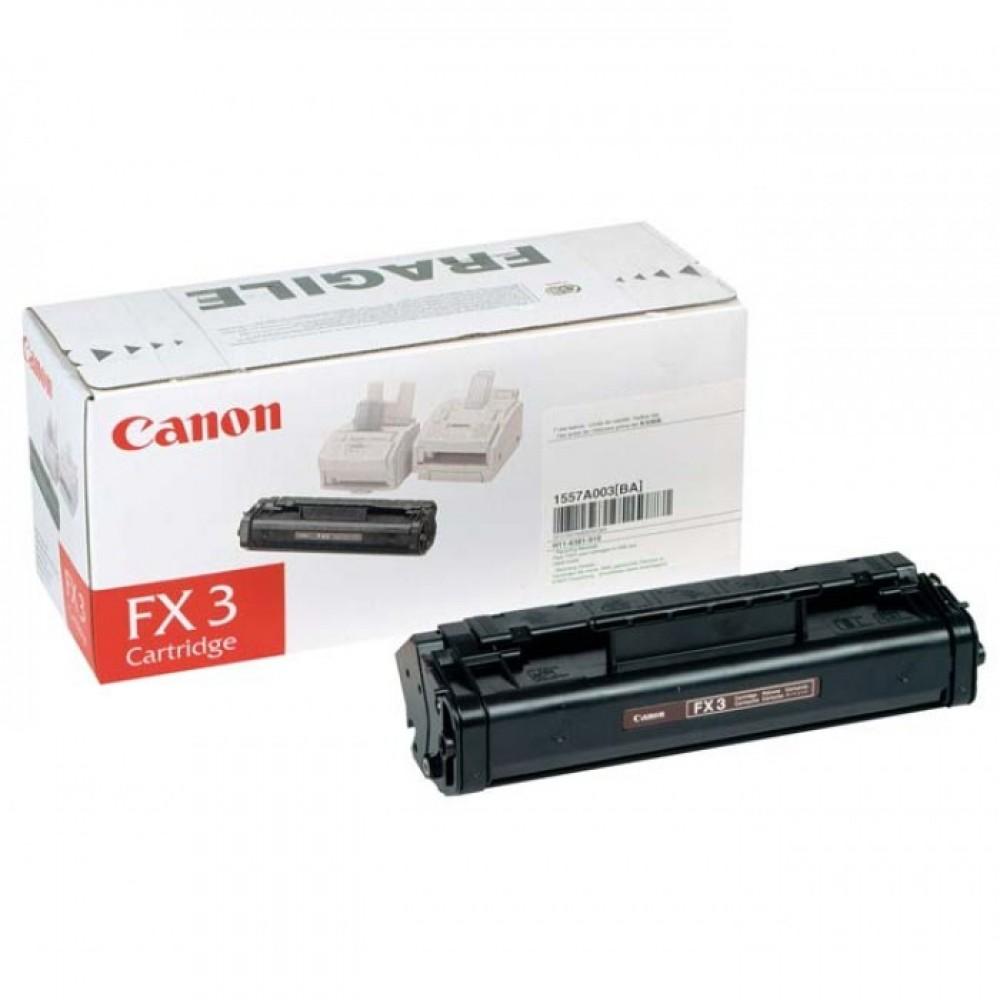 Заправка картриджа Canon FX-3 для принтера Canon Fax 38xx / 845 / 9хх / L2хх / L300, MultiPASS L60 / L90