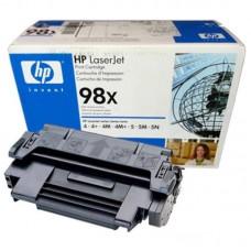 Заправка картриджа HP 92298X (HP 98X) для принтеров HP LaserJet 4 / 5simx / 5si mopier / 5si / 5n / 5 / 4+