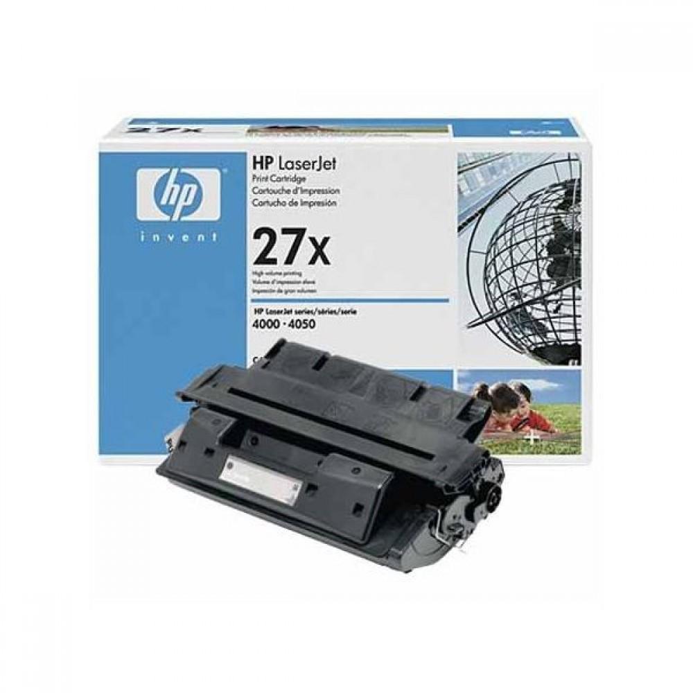 Заправка картриджа HP C4127X (HP 27X) для принтеров HP LaserJet 4000