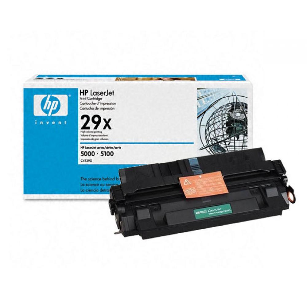 Заправка картриджа HP C4129X (HP 29X) для принтеров HP LaserJet 5000 / 5100
