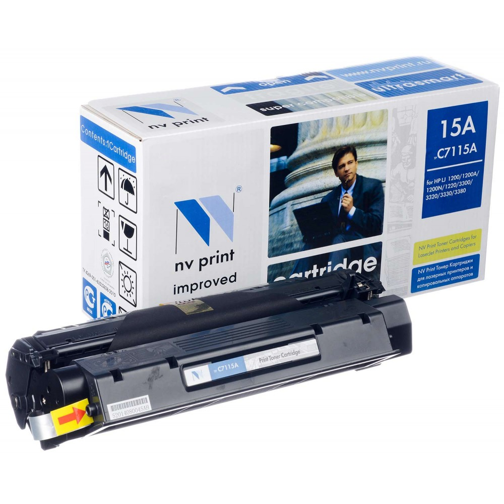 Заправка картриджа HP C7115A для принтера HP LaserJet 1000 / 1005 / 1200 / 1220 / 3300 / 3320 / 3330 / 3380