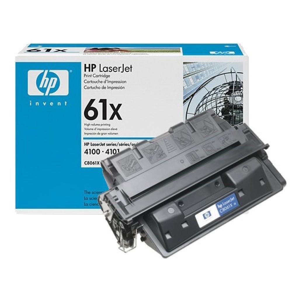 Заправка картриджа HP C8061X (HP 61X) для принтеров HP LaserJet 4050 / 4100