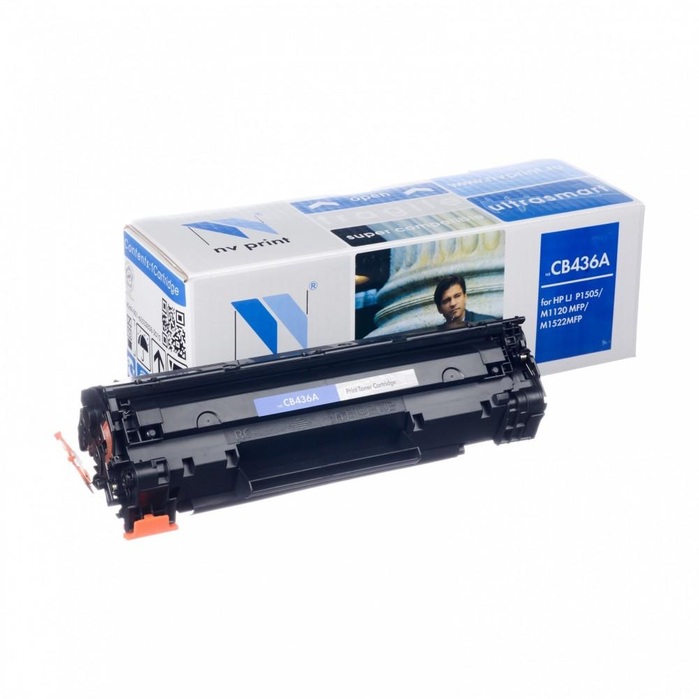 Заправка картриджа HP CB436A (HP 36A) для принтера HP LaserJet M1120 / M1319 / M1522 / P1505