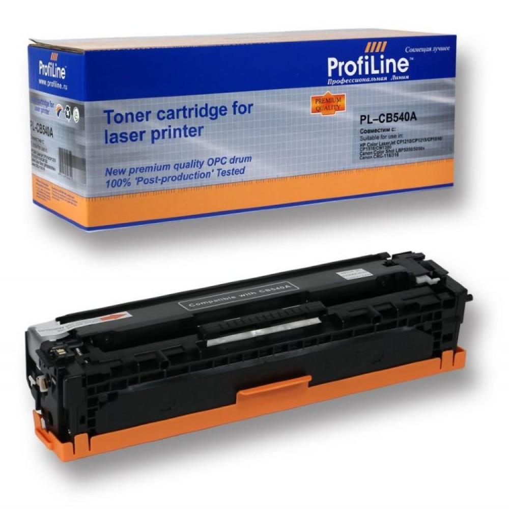 Заправка картриджа HP CB540A (черный) для принтера HP Color Laser Jet CP1215 / 1515 / CM1312