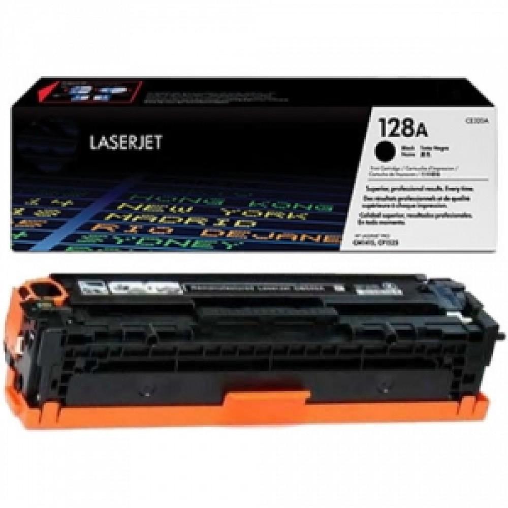 Заправка картриджа HP CE320A (черный) для принтеров HP Color LaserJet CM1415 / CP1525