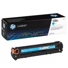 Заправка картриджа HP CE321A (голубой) для принтеров HP Color LaserJet CM1415 / CP1525