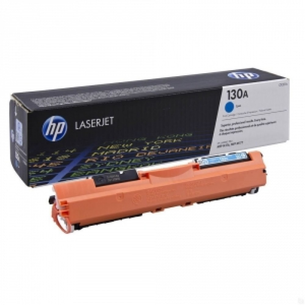 Заправка картриджа HP CF351A (голубой) для принтеров HP LaserJet Pro M176 / M177