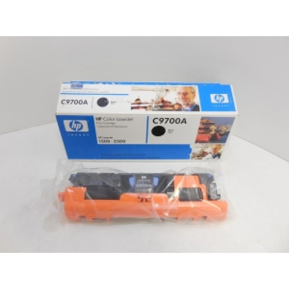 Заправка картриджа HP CLJ C9700A (черный) для принтера HP CLJ 1500L, HP CLJ 2500, HP CLJ 2500L