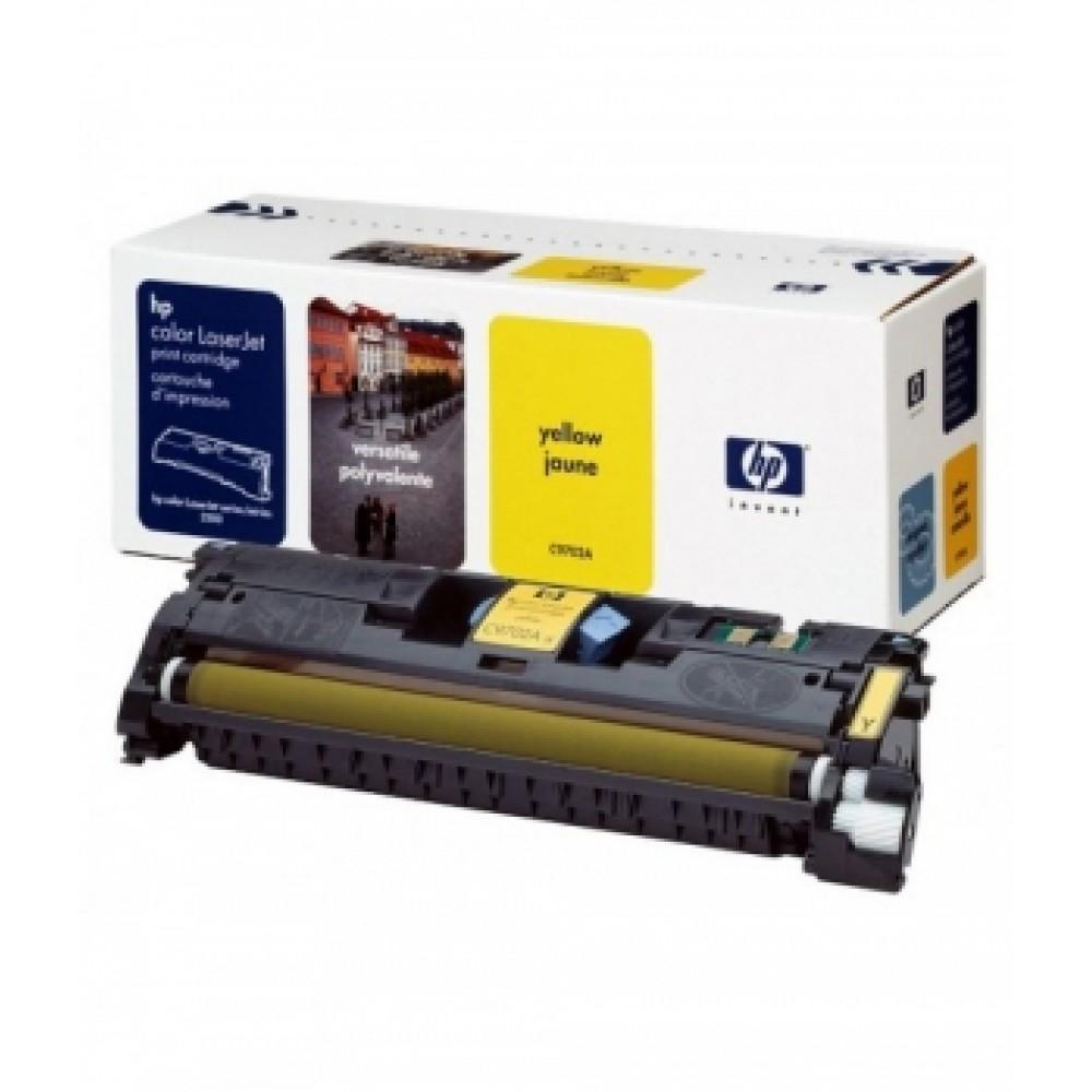 Заправка картриджа HP CLJ C9702A (желтый) для принтера HP CLJ 1500L, HP CLJ 2500, HP CLJ 2500L