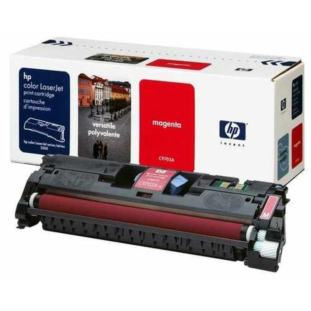 Заправка картриджа HP CLJ C9703A (пурпурный) для принтера HP CLJ 1500L, HP CLJ 2500, HP CLJ 2500L