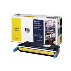 Заправка картриджа HP CLJ C9732A (желтый) для принтера HP CLJ 5500, HP CLJ 5550
