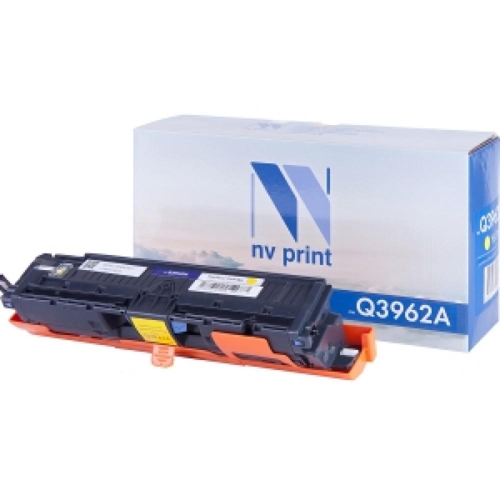 Заправка картриджа HP CLJ Q3962A (желтый) для принтера HP CLJ 2550L / 2820 / 2840 qio