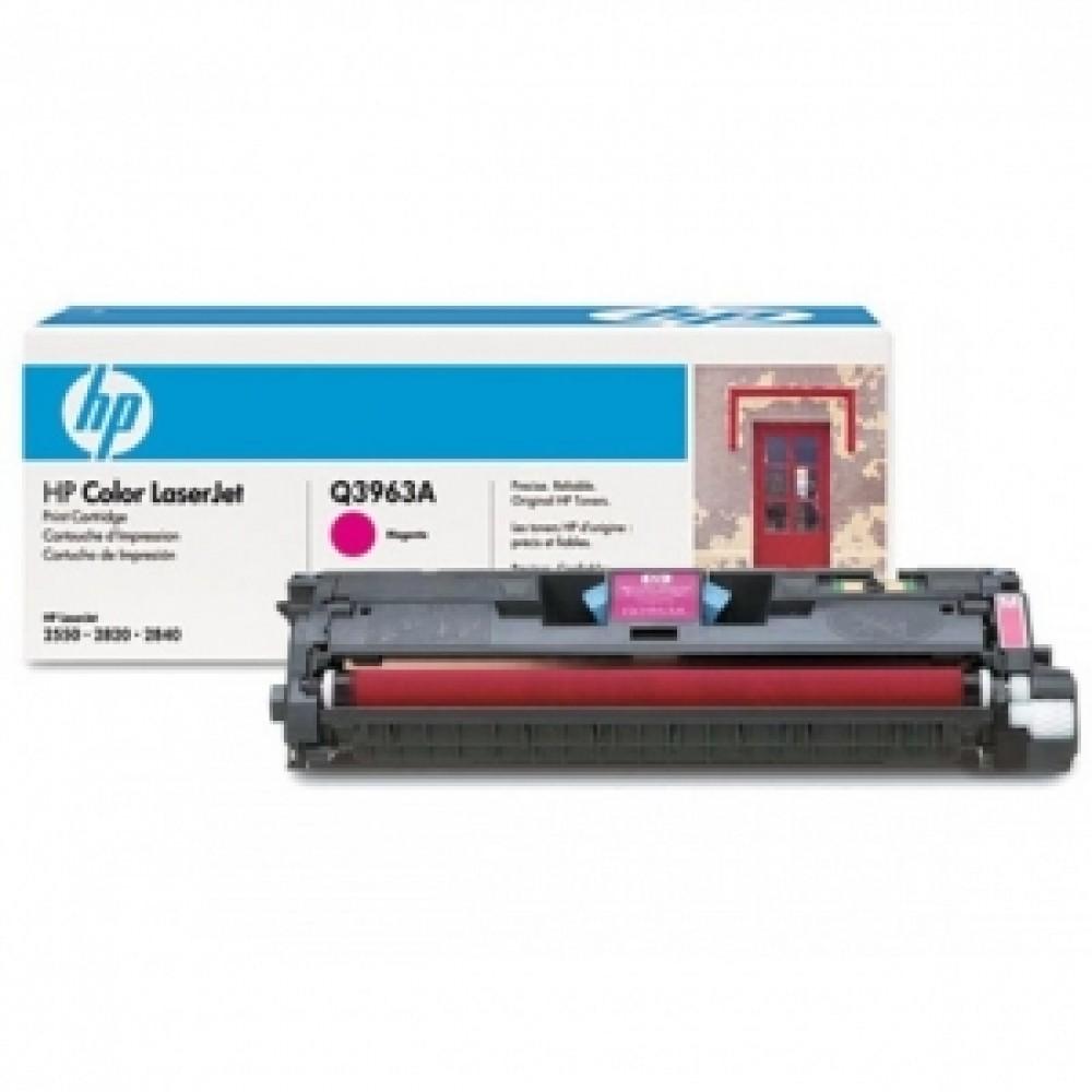 Заправка картриджа HP CLJ Q3963A (пурпурный) для принтера HP CLJ 2550L / 2820 / 2840 qio