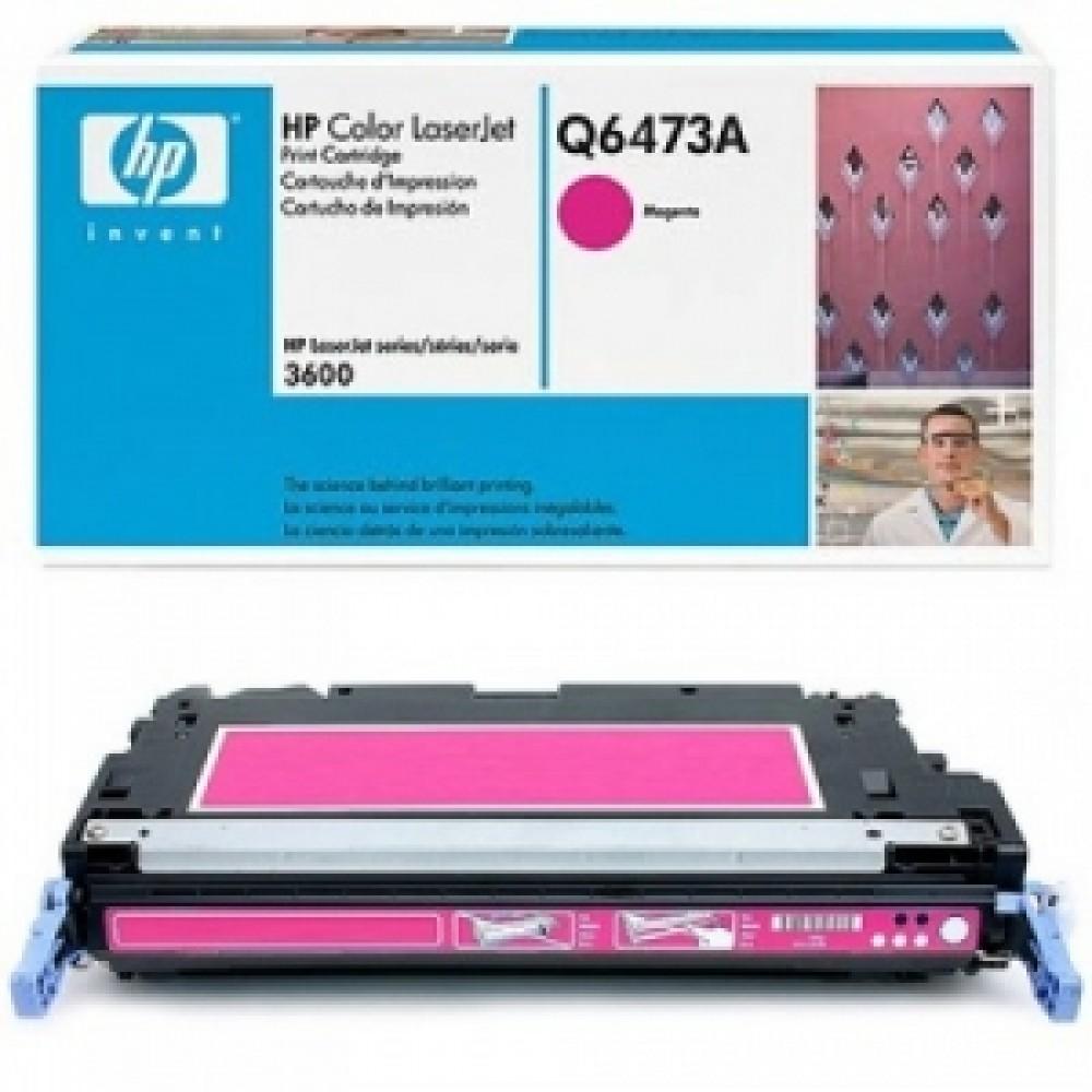 Заправка картриджа HP CLJ Q6473A (пурпурный) для принтера HP CLJ 3600, HP CLJ CP3505