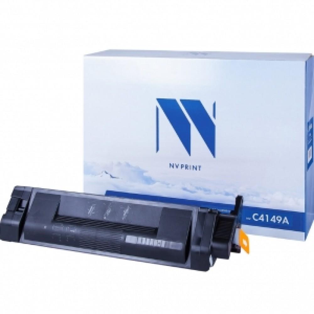Заправка картриджа HP CLJ С4149A (черный) для принтера HP CLJ 8500, HP CLJ 8550