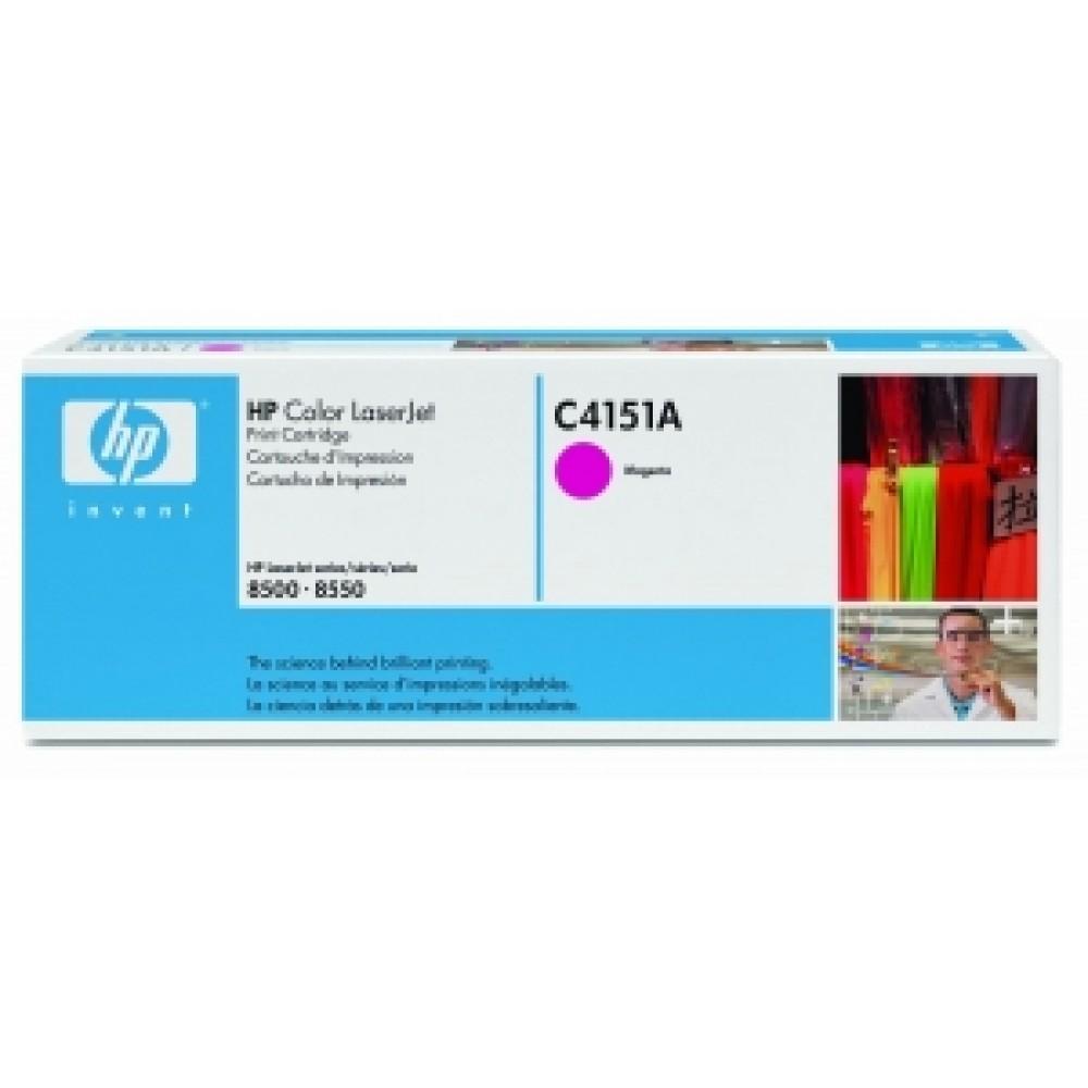 Заправка картриджа HP CLJ С4151A (пурпурный) для принтера HP CLJ 8500, HP CLJ 8550