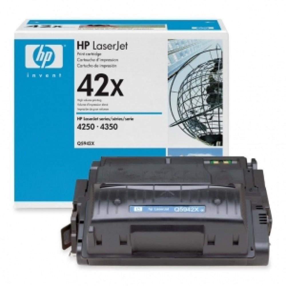 Заправка картриджа HP Q5942X (HP 42X) для принтеров HP LaserJet 4250 / 4350