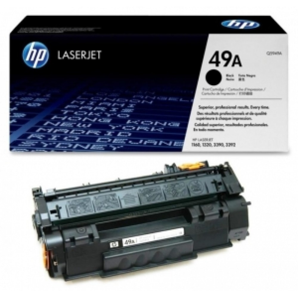 Заправка картриджа HP Q5949A (HP 49A) для принтеров HP LaserJet 1160 / 1320 / 3390 / 3392