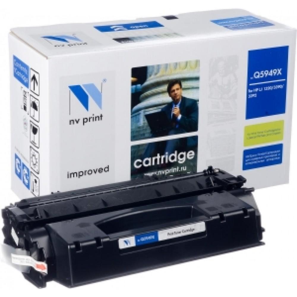Заправка картриджа HP Q5949X (HP 49X) для принтеров HP LaserJet 1160 / 1320 / 3390 / 3392