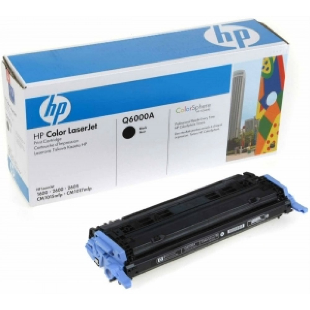 Заправка картриджа Hp Q6000a для принтера HP Color LaserJet 1600 / 2600N / 2605 / M1015 / M1017