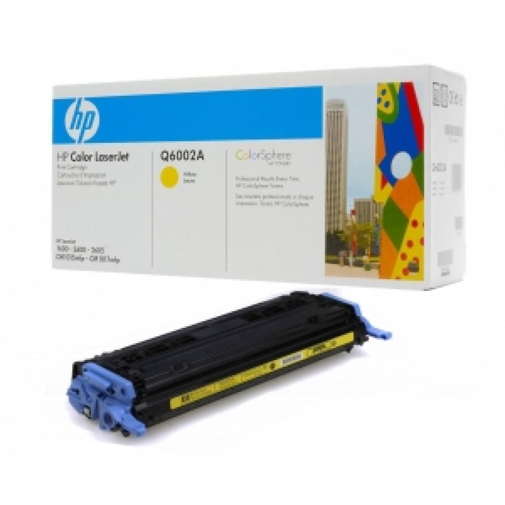 Заправка картриджа HP Q6002a для принтера HP Color LaserJet 1600 / 2600N / 2605 / M1015 / M1017