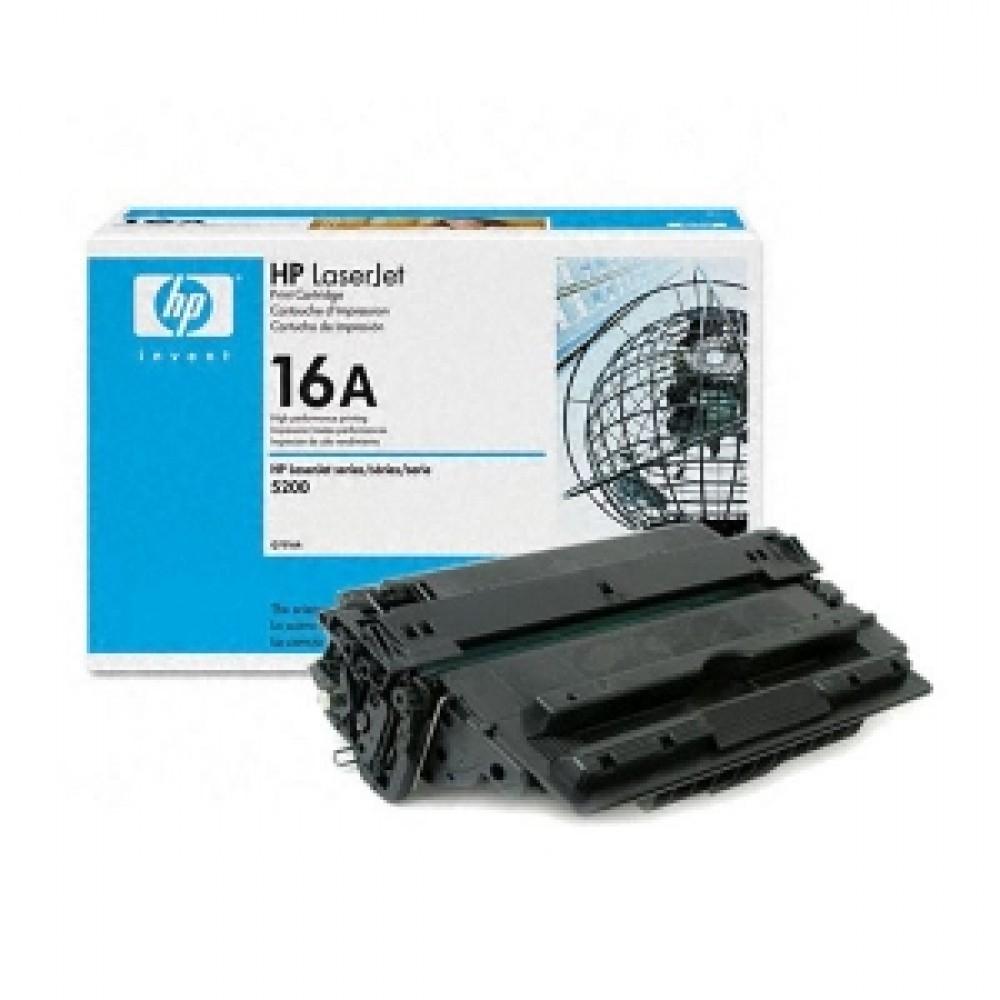 Заправка картриджа HP Q7516A (HP 16A) для принтера HP LaserJet 5200