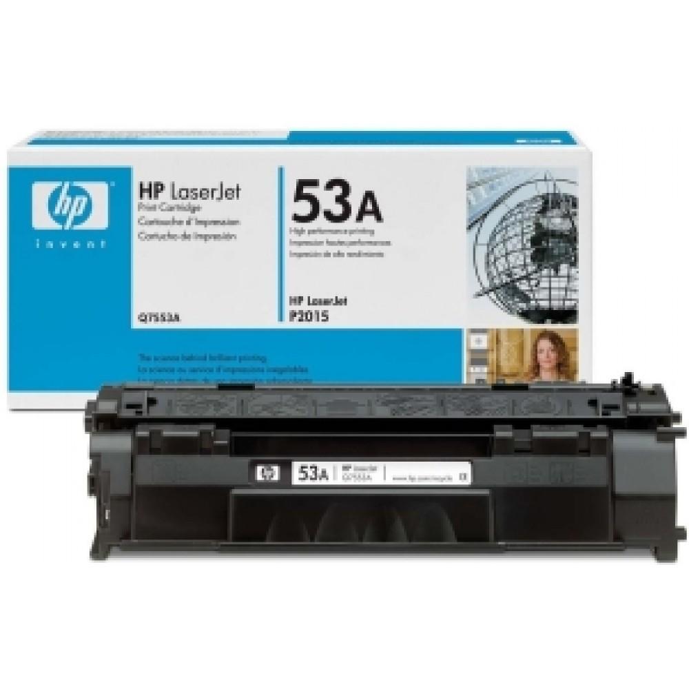 Заправка картриджа HP Q7553A (HP 53A) для принтеров HP LaserJet M2727 / P2014 / P2015