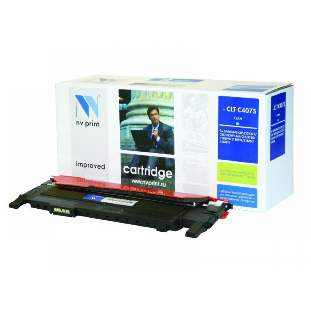 Заправка картриджа Samsung CLT-C407S для принтера SAMSUNG CLP-320 / CLX-3185