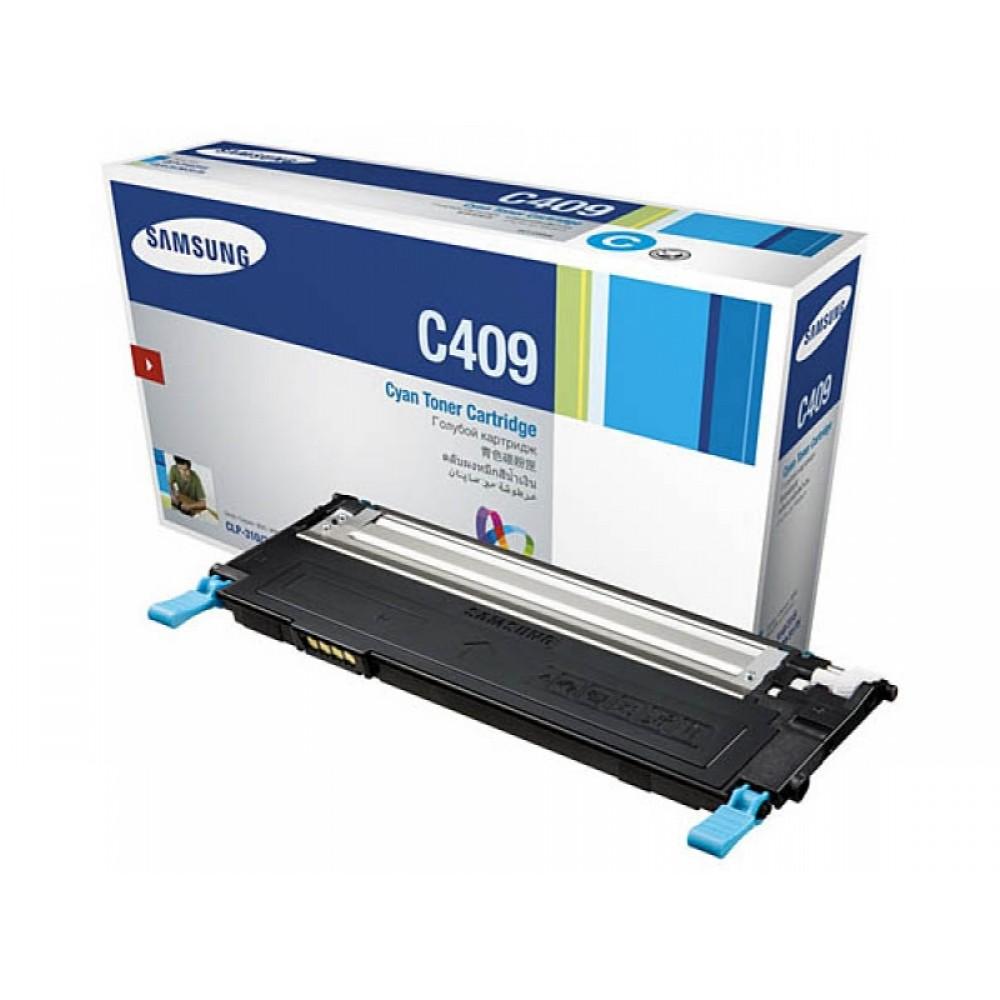 Заправка картриджа Samsung CLT-C409S (синий) для принтера Samsung CLP 310 / 310N / 315, Samsung CLX 3170 / 3170NF / 3175 / 3175FN