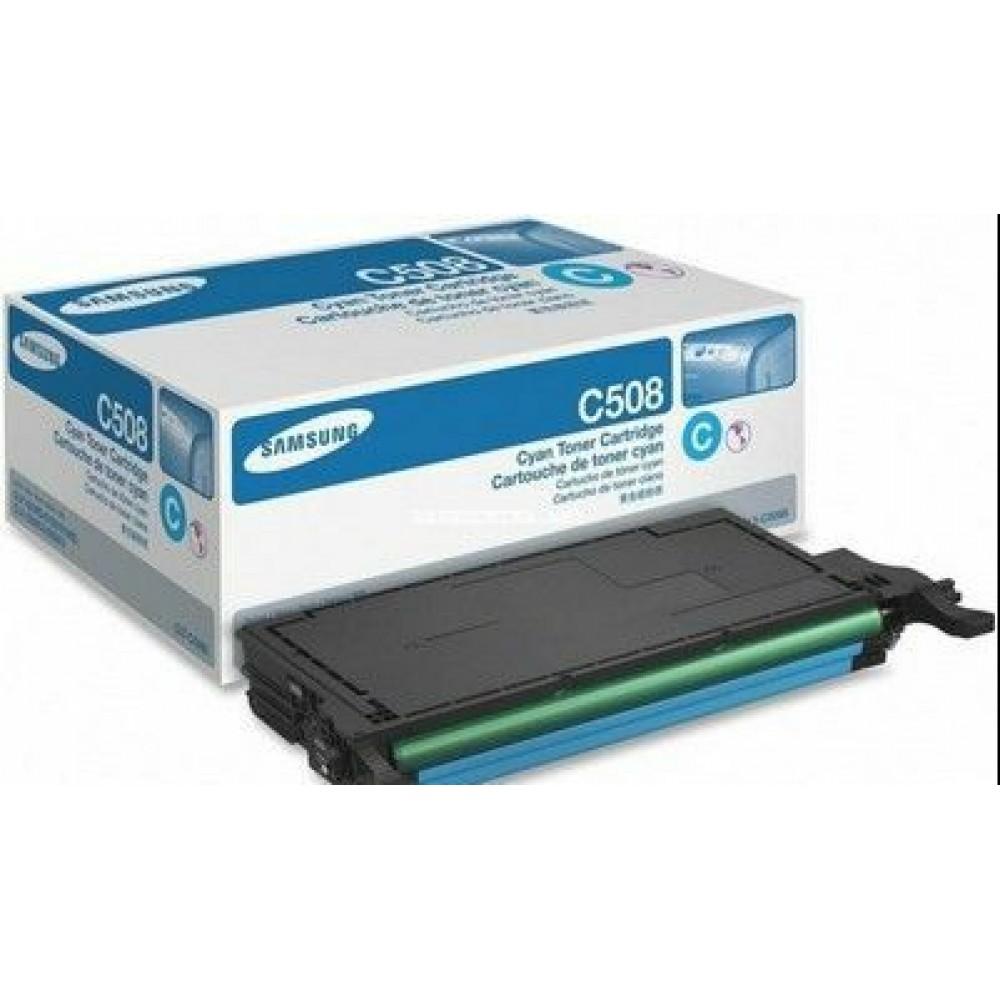 Заправка картриджа Samsung CLT-C508S/SEE (голубой) для принтера Samsung CLP 620
