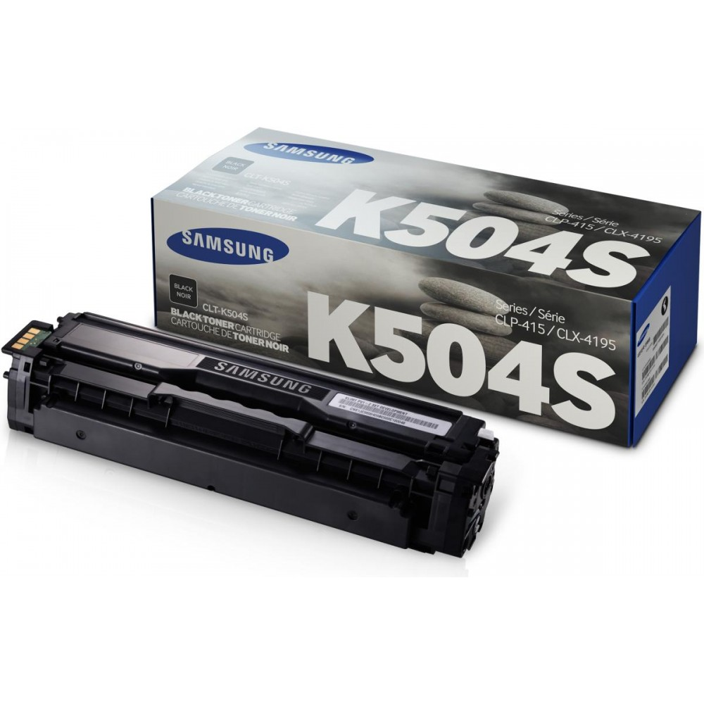 Заправка картриджа Samsung CLT K504S (черный) для принтера Samsung CLP 415