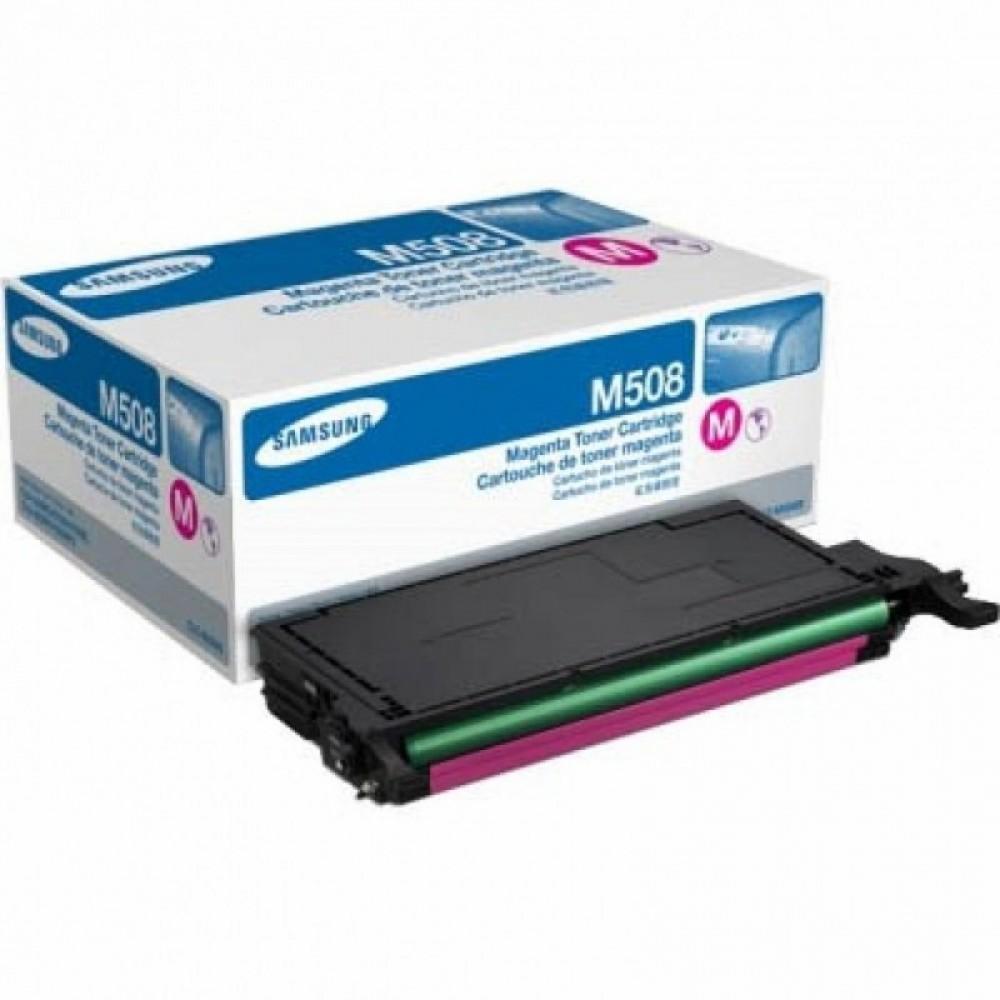 Заправка картриджа Samsung CLT-M508S/SEE (пурпурный) для принтера Samsung CLP 620