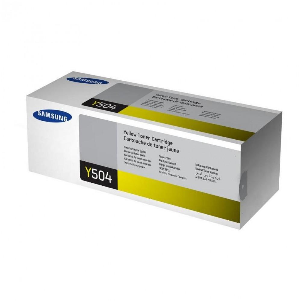 Заправка картриджа Samsung CLT-Y504S (желтый) для принтера Samsung CLP 415