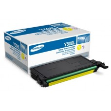 Заправка картриджа Samsung CLT-Y508S/SEE (желтый) для принтеров Samsung CLP 620
